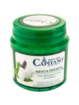 Gumă de mestecat Pasta del Capitano Peppermint 105g