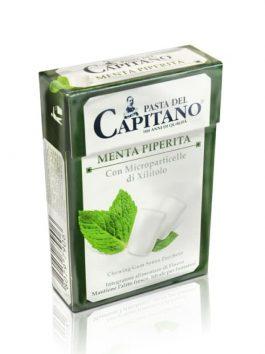 Gumă de mestecat Pasta del Capitano Peppermint 30g