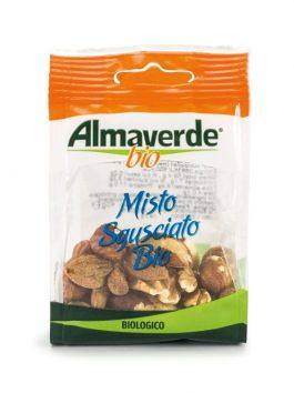 Mixt de migdale, nuci și alune de pădure Almaverde Bio 40g