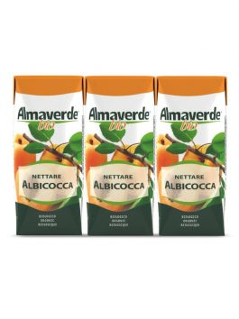 Nectar de caise Almaverde Bio 3 x 200ml