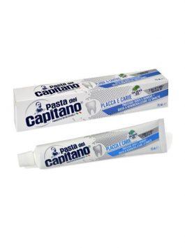 Pastă de dinți contra placă și carii Pasta del Capitano 75ml