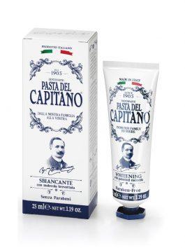 Pastă de dinți cu efect de albire Pasta del Capitano 1905 25ml