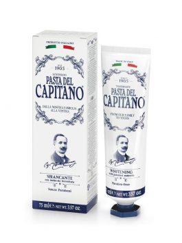 Pastă de dinți cu efect de albire Pasta del Capitano 1905 75ml