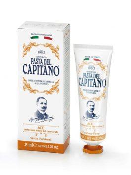 Pastă de dinți cu vitaminele A, C, E Pasta del Capitano 1905 25ml