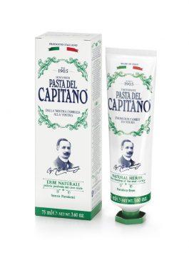 Pastă de dinți ierburi naturale Pasta del Capitano 1905 75ml