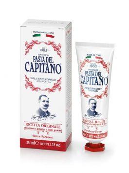 Pastă de dinți rețeta originală Pasta del Capitano 1905 25ml