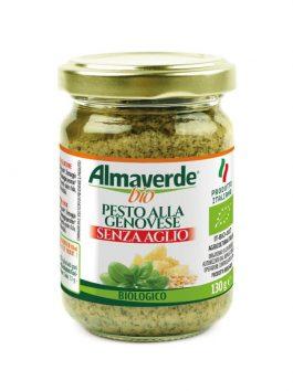 Pesto alla Genovese fără usturoi Almaverde Bio 130g