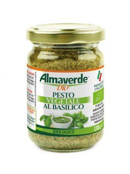 Pesto vegetal cu busuioc Almaverde Bio 130g