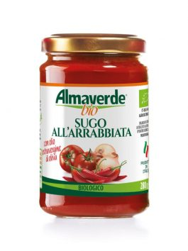 Sos all'arrabbiata Almaverde Bio 280g