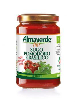 Sos cu roșii și busuioc Almaverde Bio 280g
