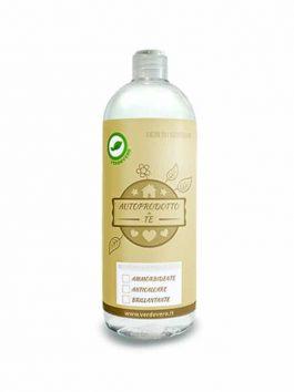 Sticlă 1L cu capac și etichetă pentru detergenți Verdevero