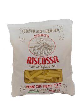 Penne rigate 100% Grano Italiano Riscossa n.927 500g