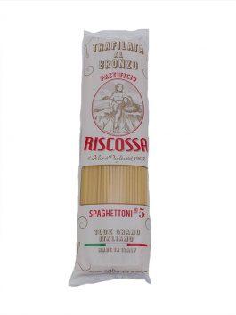 Spaghete 100% Grano Italiano Riscossa n.92 500g