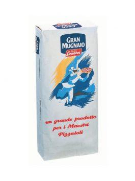 """Făină premium """"0"""" Pulcinella pentru pizza tradițională Molino Spadoni 40 x 25kg"""