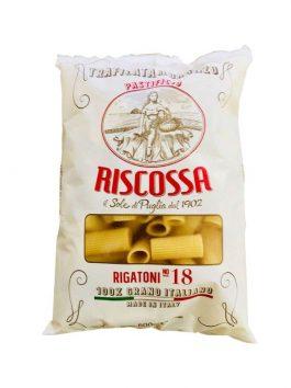 Rigatoni 100% Grano Italiano Riscossa n.918 500g