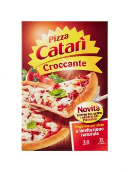 Pizza crocantă Catari 435g
