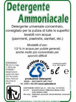 Detergent ABL cu amoniac pentru pardoseli 5L