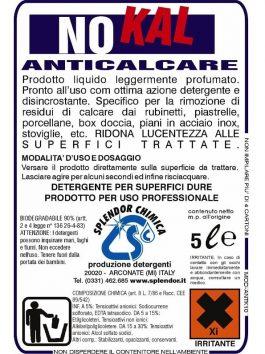 Soluție anticalcar No Kal 5L