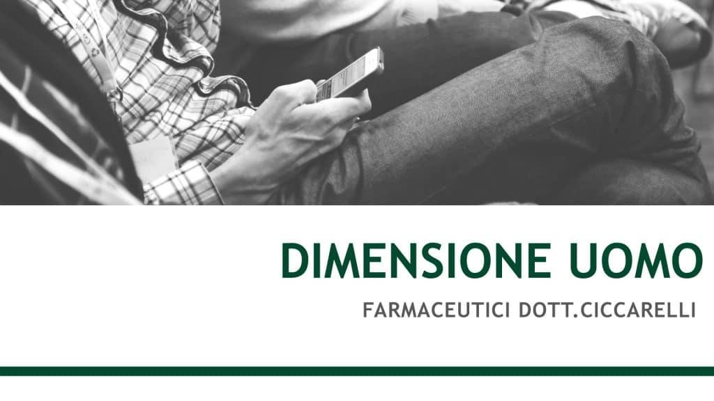 Linia Dimensione Uomo pentru îngrijirea pielii bărbaților