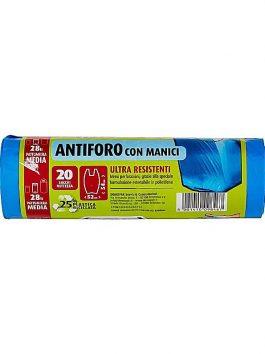 Saci de gunoi Domopak Spazzy antiperforare, 28L, 20 saci/pachet