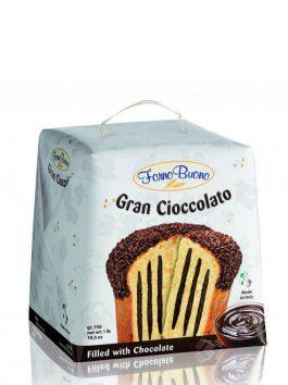 Panettone cu ciocolată Fornobuono 750g