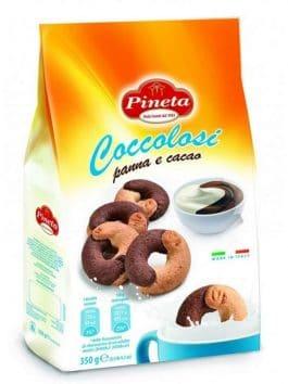 Biscuiți coccolosi cu cacao Pineta 350g
