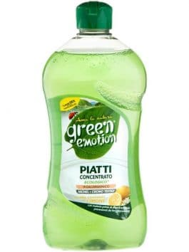 Detergent de vase bio lămâie Green Emotion 500ml