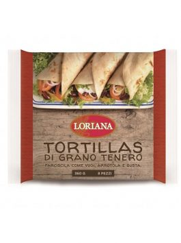 Tortillas Loriana 360g 8 buc.