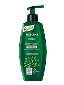 Șampon BIO nutrient Biopoint 250ml cu migdale bumbac quinoa și aloe vera