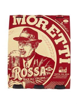 Bere Moretti La Rossa pachet 33cl x3