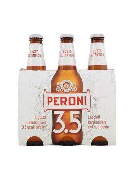 Bere Peroni 3,5° 33cl x 3