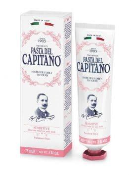 Pastă de dinți pentru dinți sensibili Pasta del Capitano 1905 75ml