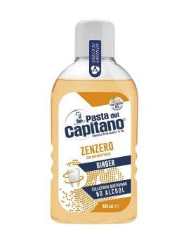 Apă de gură antibacteriană cu ghimbir Pasta del Capitano 400ml