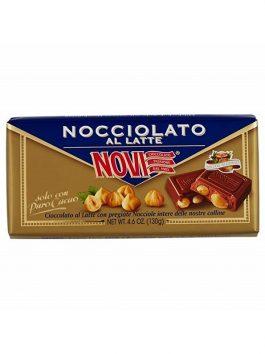 Ciocolată Novi cu alune de pădure și lapte 130g