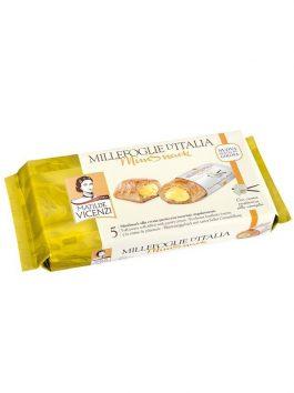 Prăjitură Vicenze Millefoglie mini cu cremă de vanilie 125g