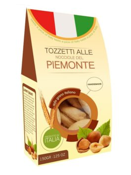 Biscuiți tozzetti Valpan cu alune de Piemont 200g