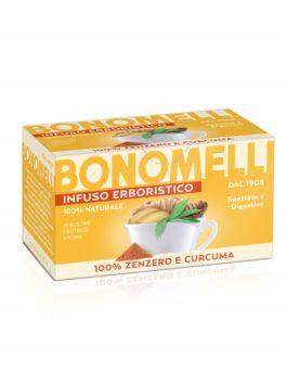 Ceai de ghimbir și turmeric Bonomelli 16x2g