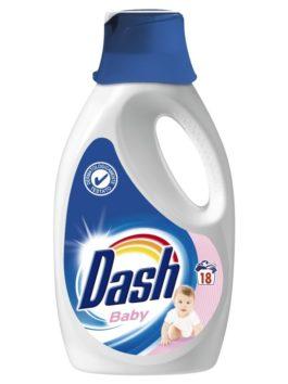 Detergent rufe lichid Dash Baby 18 spălări 1,17L