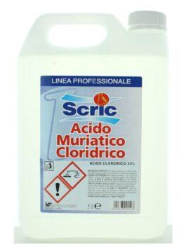 Acid muriatic pur Scric 5L