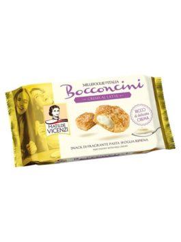 Prăjiturele Bocconcini Vicenzi cu cremă de lapte 100g