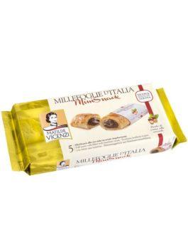 Prăjitură Vicenze Millefoglie mini cu cremă de alune de pădure 125g