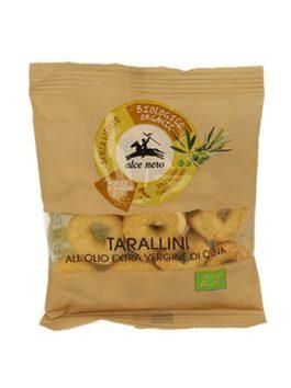 Covrigei BIO cu ulei extravirgin de măsline Alce Nero tarallini pugliese 40g