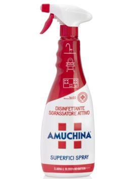 Spray dezinfectant și degresant pentru toate suprafețele Amuchina 750ml