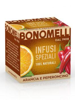 Ceai de portocale și ardei iute Bonomelli 10x2g