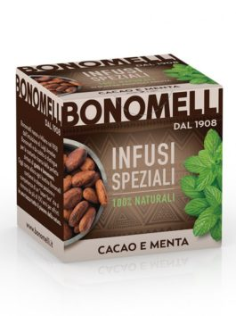 Ceai de cacao și mentă Bonomelli 10x2g