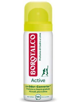 Deo spray Borotalco parfum de cedru și lime 50ml