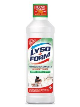 Detergent dezinfectant pentru pardoseli LysoForm Protezione Casa cedru & bergamotă 900ml