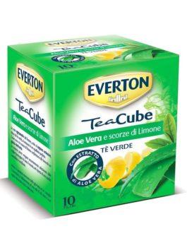 Ceai verde cu aloe vera și coajă de lămâie Everton 10x2g