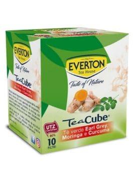 Ceai verde Earl Grey cu curcuma și moringa Everton 10×1,3g