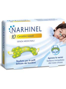 Plasturi nazali pentru copii Narhinel 10 buc.